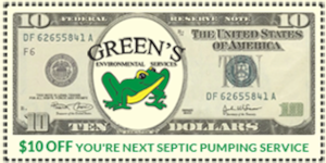 $10 off Septic Pumping